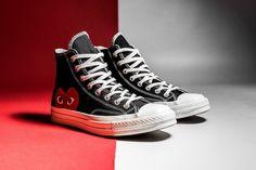 Powraca kolaboracja Comme des Garçons Play x Converse na modelu Chuck Taylor-2