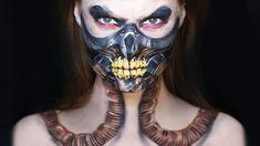 MAD MAX Makeup Tutorial | Immortan Joe (Request)