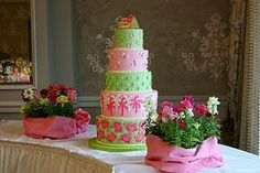 The Cabana: Lilly Pulitzer Theme Parties