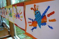 vlinders schilderen