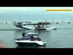 DO 24ATT landing on the Lake Constance May 18th 2012 - one of the highlights of the Classic World Lake Constance 2012