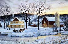Terry Doughty Winter Memories