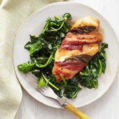 Quick Chicken Saltimbocca