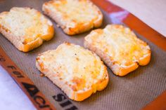 Baked Cheese Toasties recipe. An Irish classic made with buttered toast, eggs, Irish cheddar, and Worcestershire.