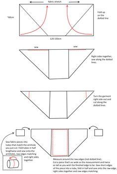 Risultati immagini per fabric shrugs tutorial