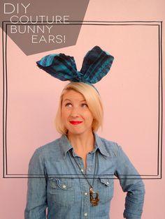 DIY Couture Bunny Ears // www.studioARblog.com