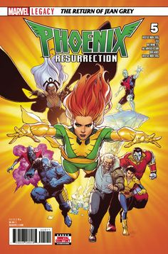 PHOENIX RESURRECTION RETURN JEAN GREY #5