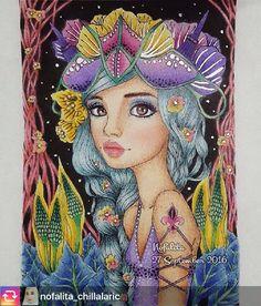 Very beautiful @nofalita_chillalaric 😍😍😍👏🏻👏🏻👏🏻 Want to appear in our group put on #arte_e_colorir  Usem #arte_e_colorir para aparecer aqui em nosso grupo. ➡️ @arte_e_colorir @desenhos_ofart