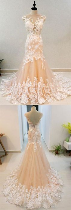 Trendy Wedding Dresses Mermaid Blush Plus Size Affordable Wedding Dresses, Wedding Dresses Plus Size, Cheap Wedding Dress, Weding Dresses, Bridesmaid Dresses, Tulle Dress, Lace Dress, Vestidos Fashion, Rustic Dresses