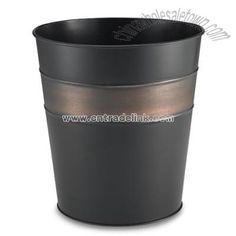 Bronze Bathroom Wastebasket