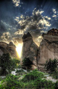 Fairy Chimneys in Cappadocia, Turkey - Absolute Magic!