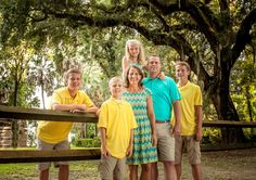 Lowcountry family portrait. Bluffton's Best Family Photographer 2012-2014.