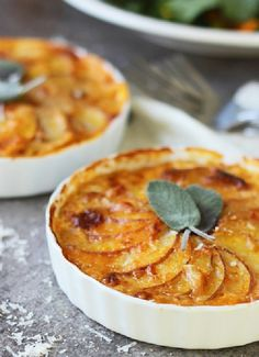 Low FODMAP & Gluten free Recipe - Pumpkin & potato gratin http://www.ibssano.com/low_fodmap_recipe_pumpkin_potato_gratin.html