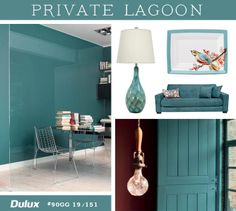 """""""Five Takes On The Color Of The Year 2014"""" --#Private Lagoon #coloroftheyear"""