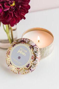 Sugar Plum Tin Candle