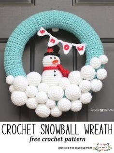 Check out the Festive Crochet Christmas WreathsRoundup! They're all free patterns and won't cost you to use. Yay! To get the free patterns, just click the bolded link or the photo of the pattern. See more Sewrella Roundups here! Wreath Gift Topper by Picot Pals Crocheted Snowball Wreath by Repeat Crafter Me MY OTHER VIDEOSRead More