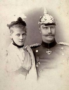 Prince Alfons of Bavaria and his future wife,Princess Louise of Orleans in the early 1890s.A♥W