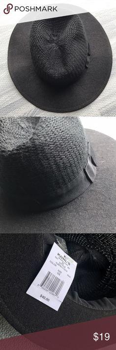 Black Fedora, Kohl's NWT Black Fedora, Kohl's NWT. So cute! kohls Accessories Hats