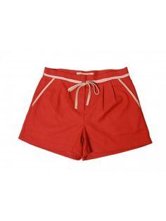 Color code for the Holidays | Naranja para las fiestas de Diciembre | Shorts de Bonsui en www.styleto.co