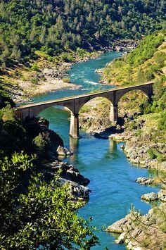 No Hands Bridge - Auburn, California. #VisitCA http://www.visitcalifornia.com/Explore/Gold-Country/