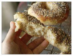Sourdough Bagels