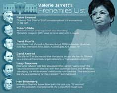 Valerie Jarrett is one of the most influential women in America. Protective, fearless, dedicated: the controversial White House figure and Chicago titan is now yolo'ing on the homestretch to ge...