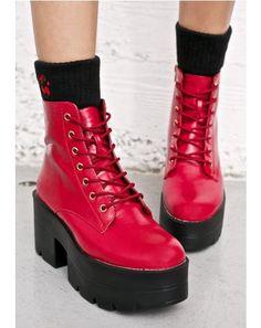 ad18137b3b6 Ruff Ryder Platform Boots Platform Boots Outfit