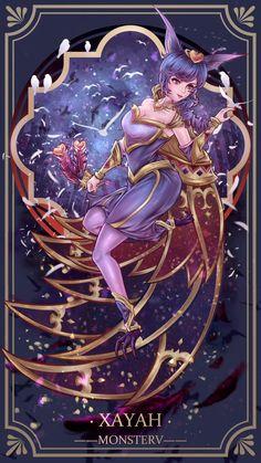 League of Legends - Sweetheart Xayah Lol League Of Legends, League Of Legends Characters, Starcraft, Bon Image, Xayah Lol, Liga Legend, Female Character Design, Anime Artwork, Legend Of Zelda