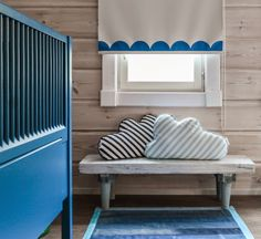 Curtains, denim rug, pillows!   pilvityyny, cloud cushion, cloud pillow, kidsroom, denim rug, denim carpet, farkkumatto