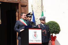 Don Matteo in Piazza del Comune di Spoleto