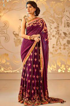 Plum Indian dress