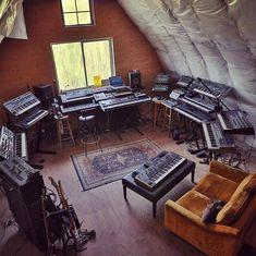 Modern Music Studios: Photo, Nothing can make or break the sound of your performance, your rehearsal space, a recording venue or, Home Music Rooms, Home Theater Rooms, House Music, Home Studio Setup, Dream Studio, Studio Gear, Audio Studio, Music Studio Room, Room Acoustics
