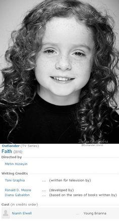 Outlander Season Two: Niamh Elwell - wee Brianna