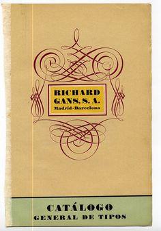 Catálogo Richard Gans