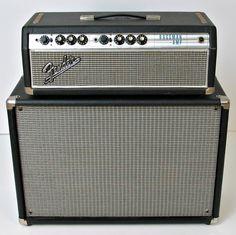 1968 Fender Silver Face Bassman