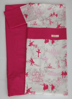Lençol Berço Bailarinas Pink