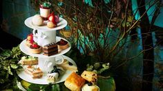A limited edition afternoon tea launched to mark DVD and Blu-ray release.