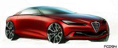 Alfa Romeo ideas on Wacom Gallery