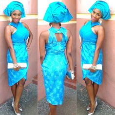 African Sweetheart: Style (Traditional): Gele