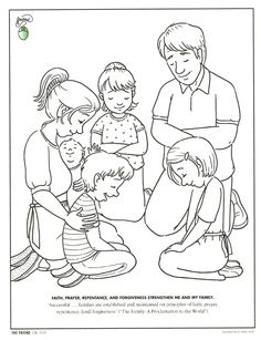 praying coloring pages preschool | ... November 2004 PDF version Friend, Page 26 (Print only page 26) here