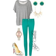 """""""Azur"""" by chilluci on Polyvore"""