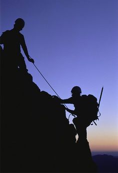 Climb a mountain ... again, maybe just once! ☮k☮ - #silhouette