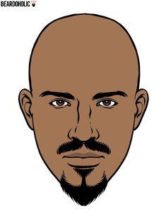 Black Men With Anchor Beard Style
