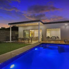 This backyard is a space that anyone would love, offering lush green areas and a stylish pool and deck, perfect for summer living. Who would love to be here tonight, enjoying the space with family and friends? #pinnacleplus #botany #home #renovation #architect #landscaping #friday #friyay #backyard #pool #botany #sydneyhomes #sydneyproperty #sydneyrealestate