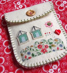 Collage Pouch by suezybees, via Flickr