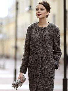 Женское пальто «букле» 2017 (65 фото): из буклированной ткани, с чем носить, отзывы