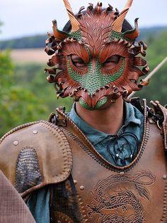 Forest Dragon being worn by merimask.deviantart.com on @deviantART