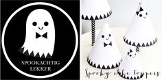 Gratis spooky cake topper printable