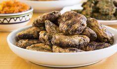 בסטיל: קציצות בשר ותפוחי אדמה | The Kitchen Coach Chicken Wings, Almond, Recipies, Moroccan, Vegan, Meals, Kitchen, Food, Recipes