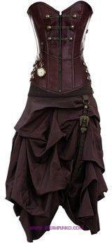 such-beautiful-steam-punk-clothes-and-so-reasonably-priced.jpg steampunk - ☮k☮ Viktorianischer Steampunk, Steampunk Dress, Steampunk Wedding, Steampunk Clothing, Steampunk Fashion, Gothic Fashion, Look Fashion, Steampunk Outfits, Steampunk Necklace
